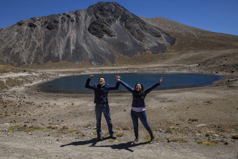 Fotos en el Nevado de Toluca