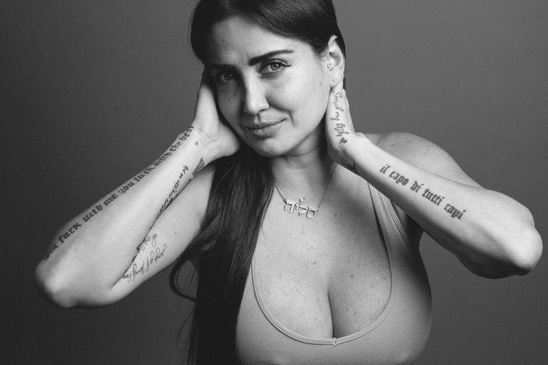 Sesión de fotos a Celia Lora